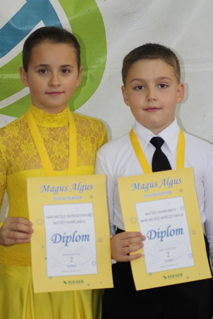 Матвей Харламов и Мари-Николь Березовская